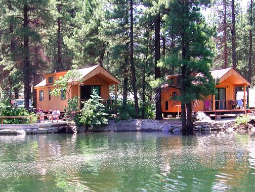 Delicieux Lake Vallecito Cabins At 5 Branches Camper Park And Cabins In Durango,  Colorado