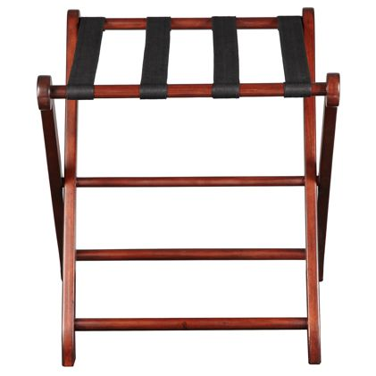 Luggage Rack Target Amusing Explorer Luggage Rack In Mahogany Is A Welcomed Asset To A Guest's Inspiration