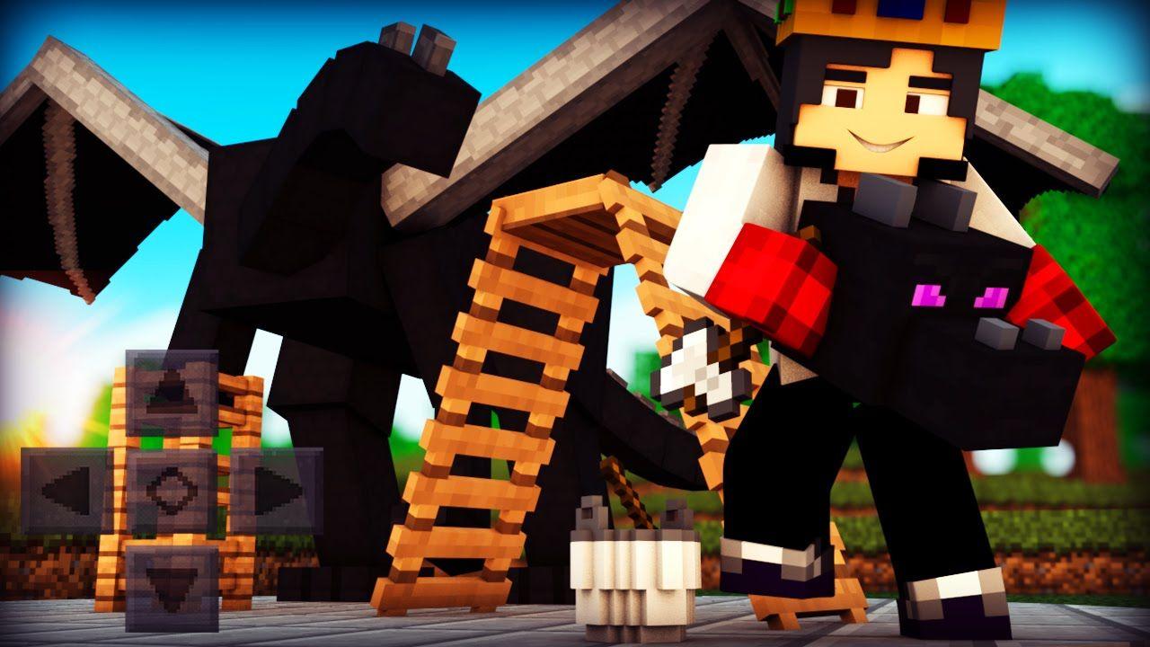 Minecraft: MOD DE FAZER SEU DRAGÃO!! ( MCPE 0.13.1 )