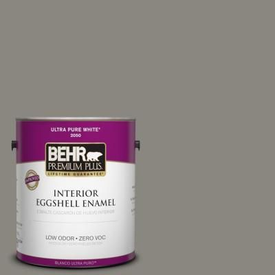 BEHR Premium Plus Home Decorators Collection 1 Gal. #HDC NT 23 Wet Cement  Eggshell Enamel Zero VOC Interior Paint And Primer In One 240001   The Home  Depot