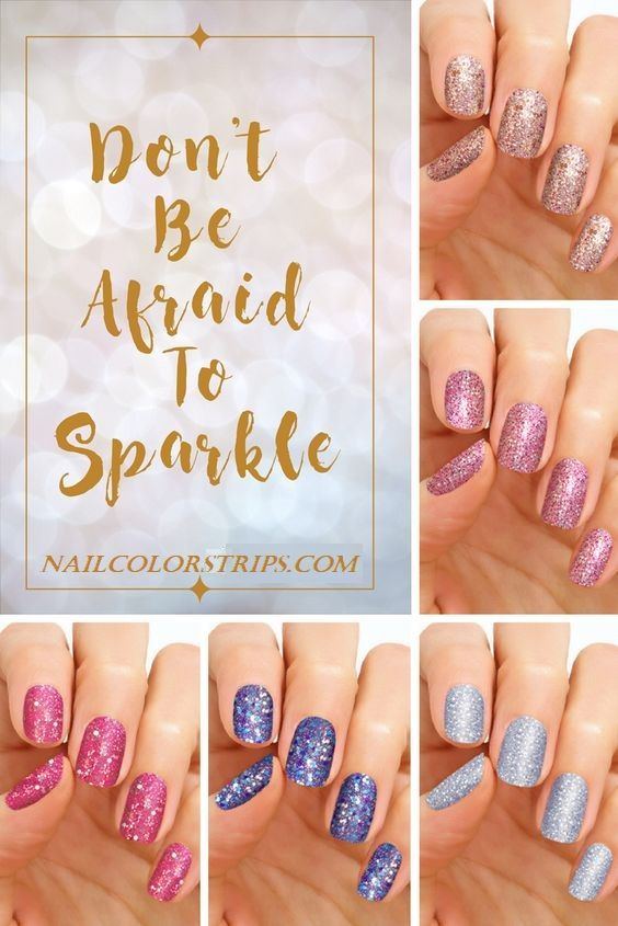 Don T Be Afraid To Sparkle Glitter Polish Has Never Been So Easy With Naildesigns Nail Wraps