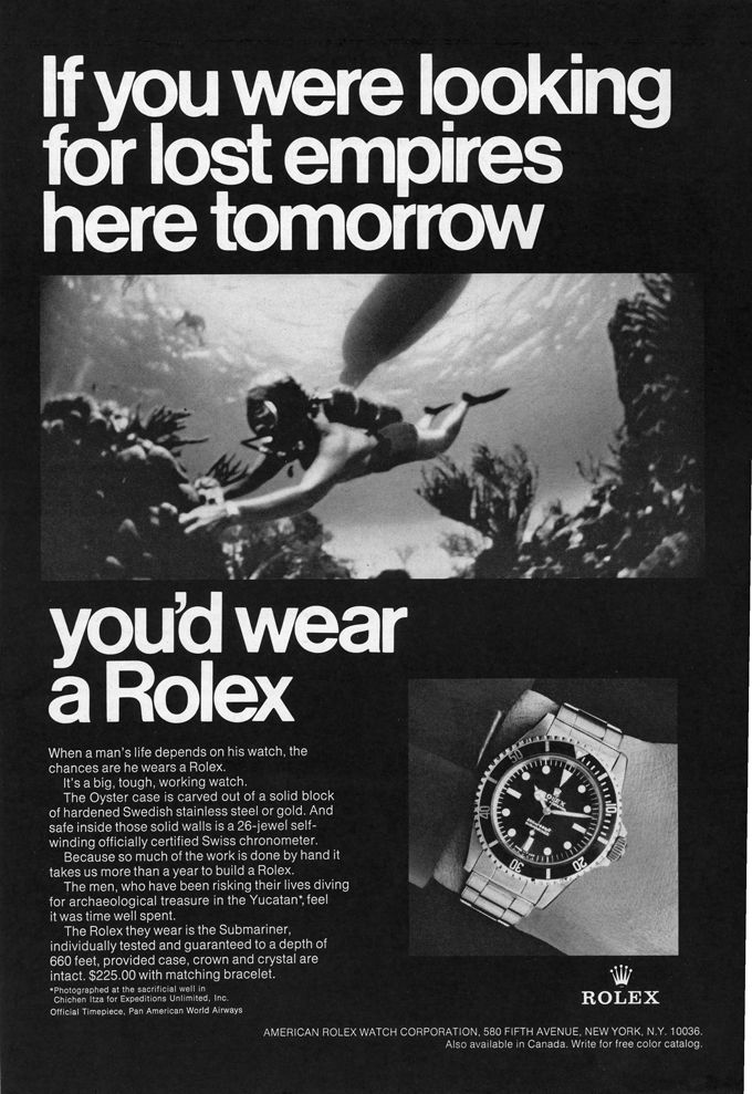 Rolex Submariner 5513 (1971) | Horlogerie Exquise