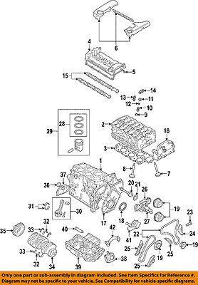 Vw Volkswagen 09 11 Cc Engine Oil Pan 03h103601j Car Truck