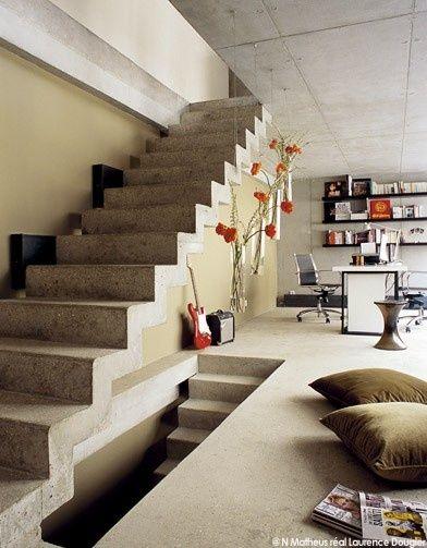 Attractive Plafond De Beton