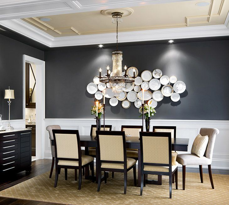 Detail Of Tray Ceiling Dining Room Designs