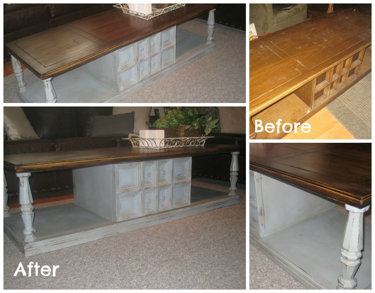 70 S Coffee Table Redo I Have The Identical One Was Thinking I