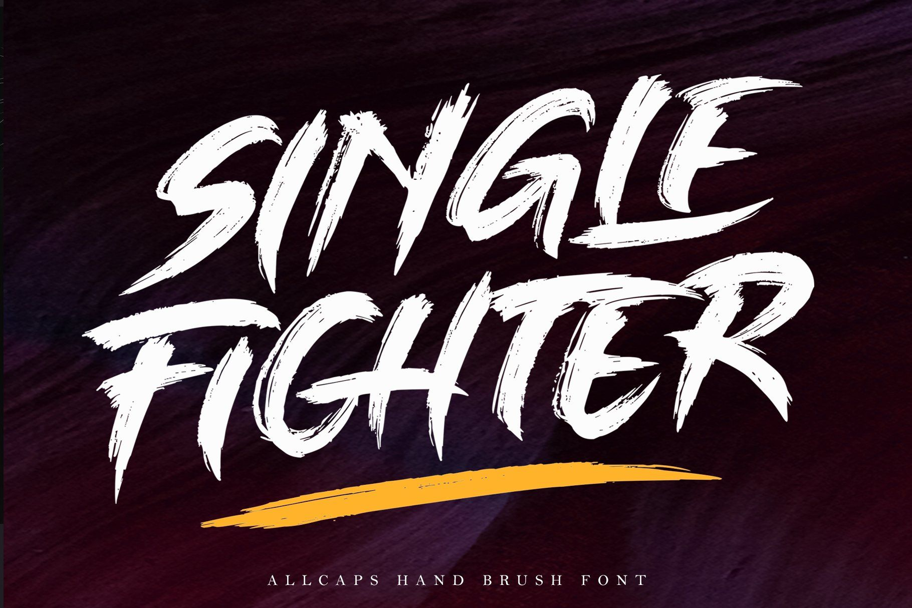 SINGLE FIGHTER / Brush Font (With images) Brush font