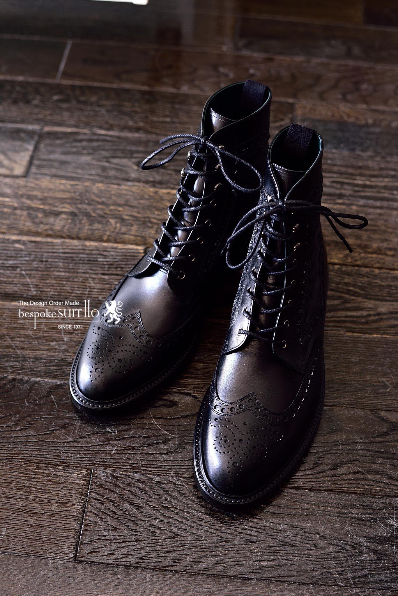 革靴,宮城興業,和創良靴,オーダー靴,オーストリッチ,ES