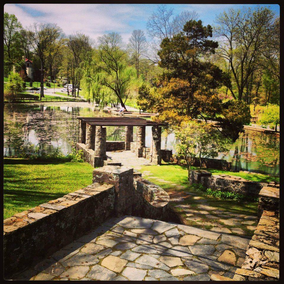 Walton pond in the spring  www.eastern.edu