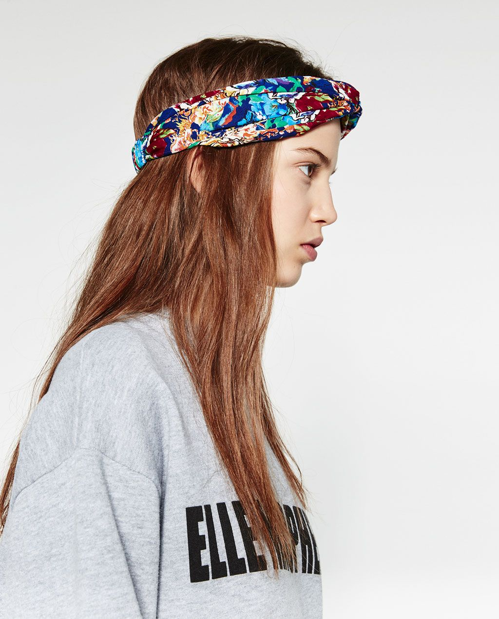 serre t te type turban a fleurs accessoires de cheveux accessoires femme zara france. Black Bedroom Furniture Sets. Home Design Ideas