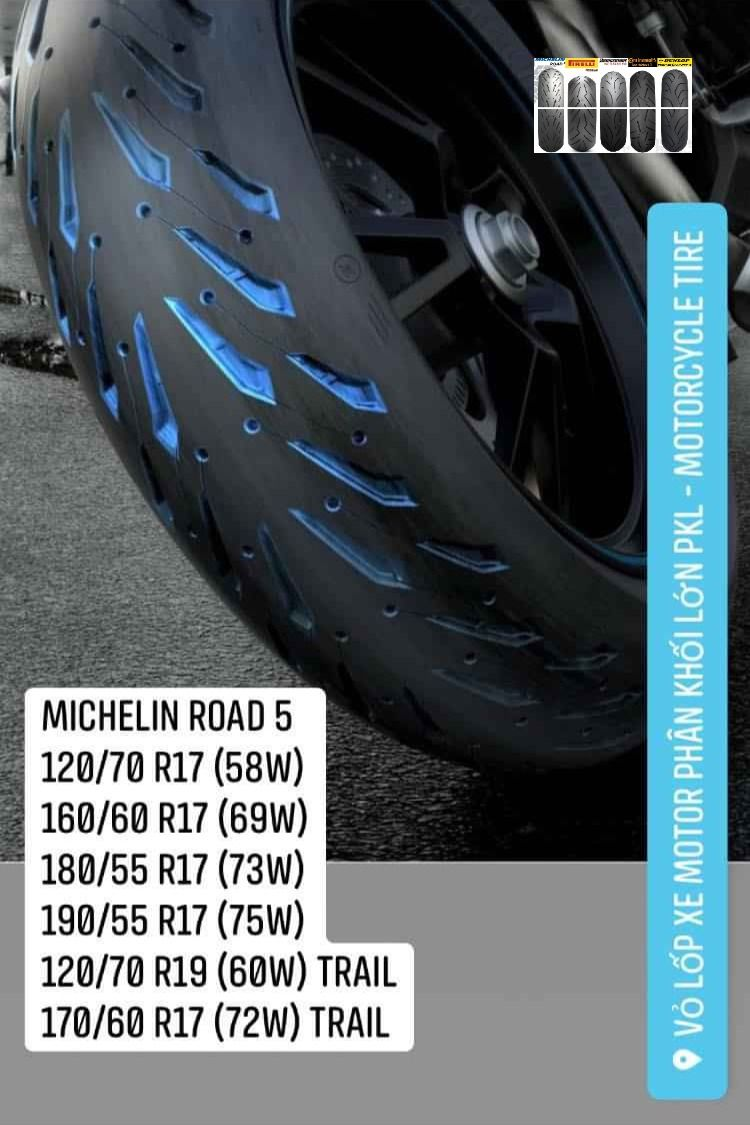 Michelin Road 5 Trong 2020