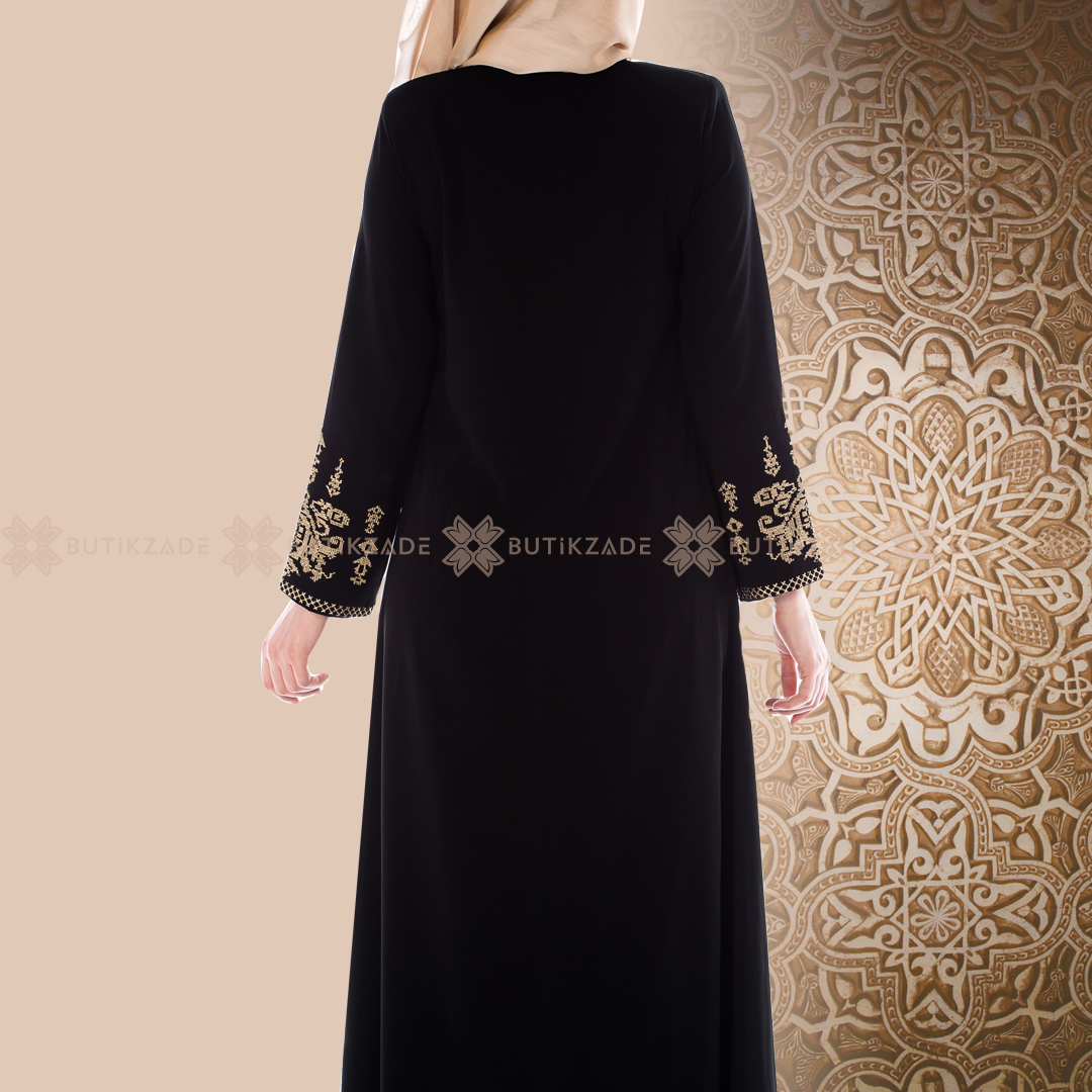 Osmanli Nakisli Siyah Ferace Elbise Giyim Elbise Modelleri