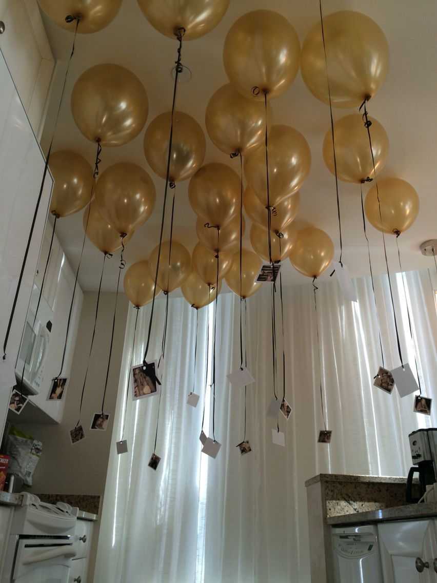 Black And Gold Balloon Ceiling Fill For New Year S Eve Balloons