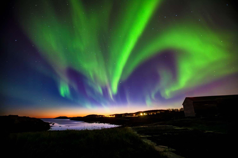 Nordlys i Bodø Nordlys, Northern lights, Bodø, vinterlys, magisk, lys Photographer: Rune Nilsen