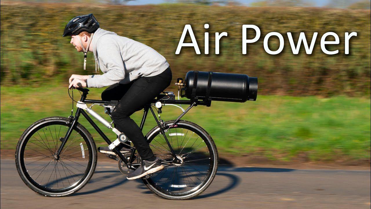 Air Powered Bike Range YouTube in 2020 Power bike