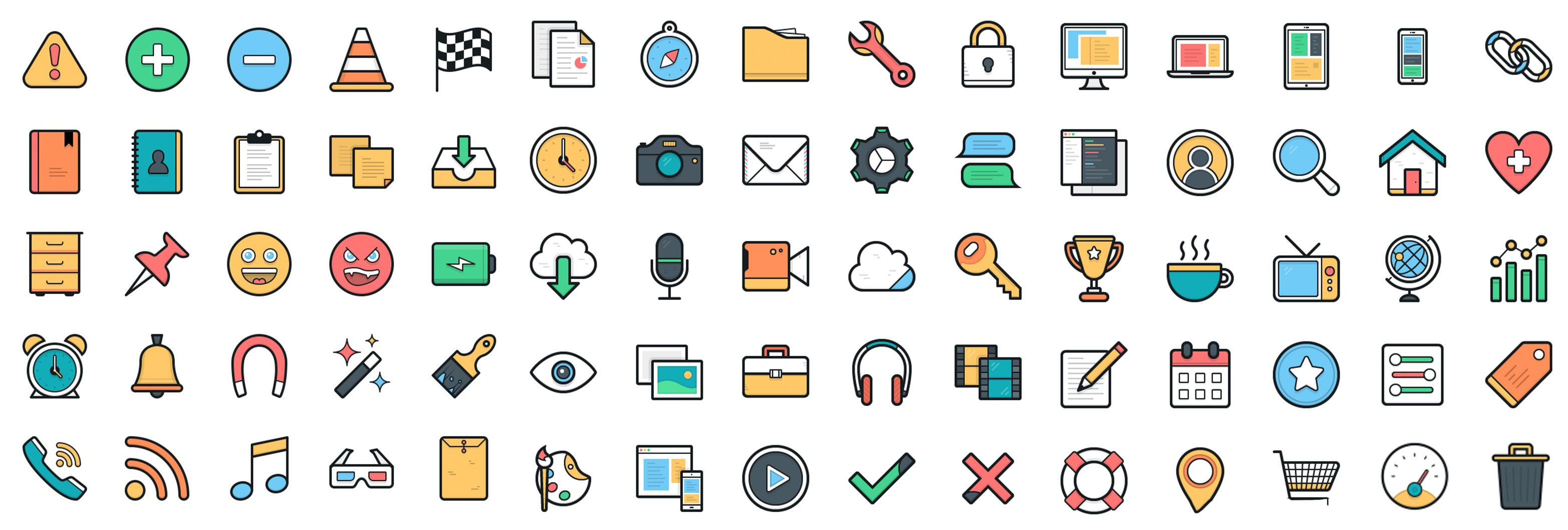 Download 100 Free Vector Icons