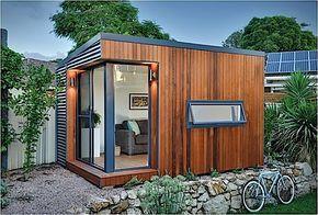 garten container, architektur: hol dir das büro in den garten | klonblog | centro, Design ideen