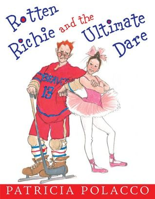 Seems like Richie's entire goal in life is to make Trisha's impossible. Especially when he takes to teasing her about her beloved ballet class. Trisha knows how much work it takes to be good at ballet—much more than the stupid hockey Richie plays! So she challenges Richie to perform in her ballet recital, and Richie agrees, under one condition: Trisha has to join his hockey team for the big game!
