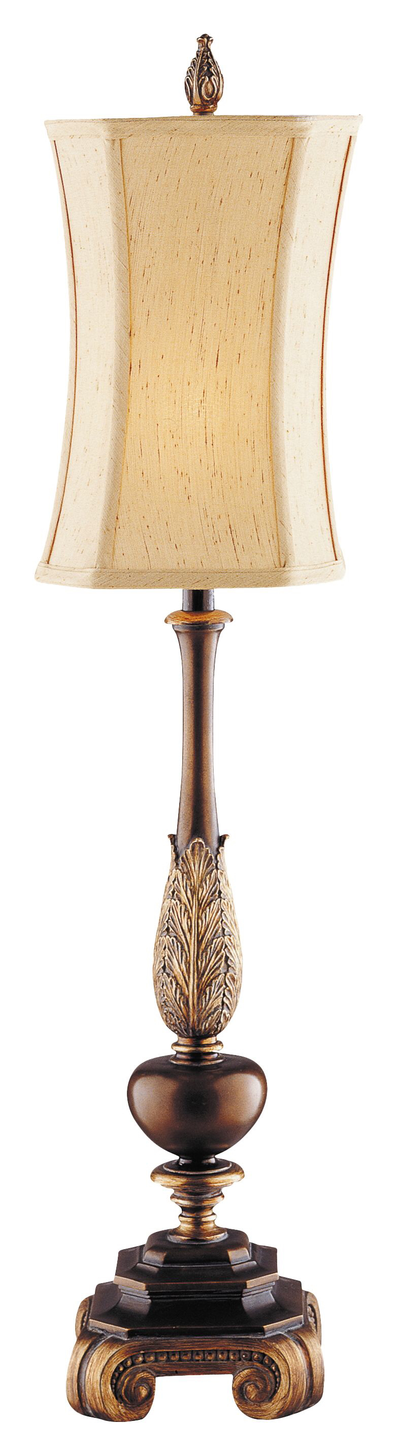 "Queen 35.5"" H Table Lamp with Oval Shade 