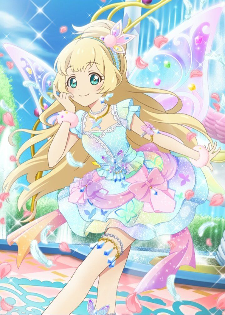 Aikatsu stars! Hime Let's fly with this wonderful wings