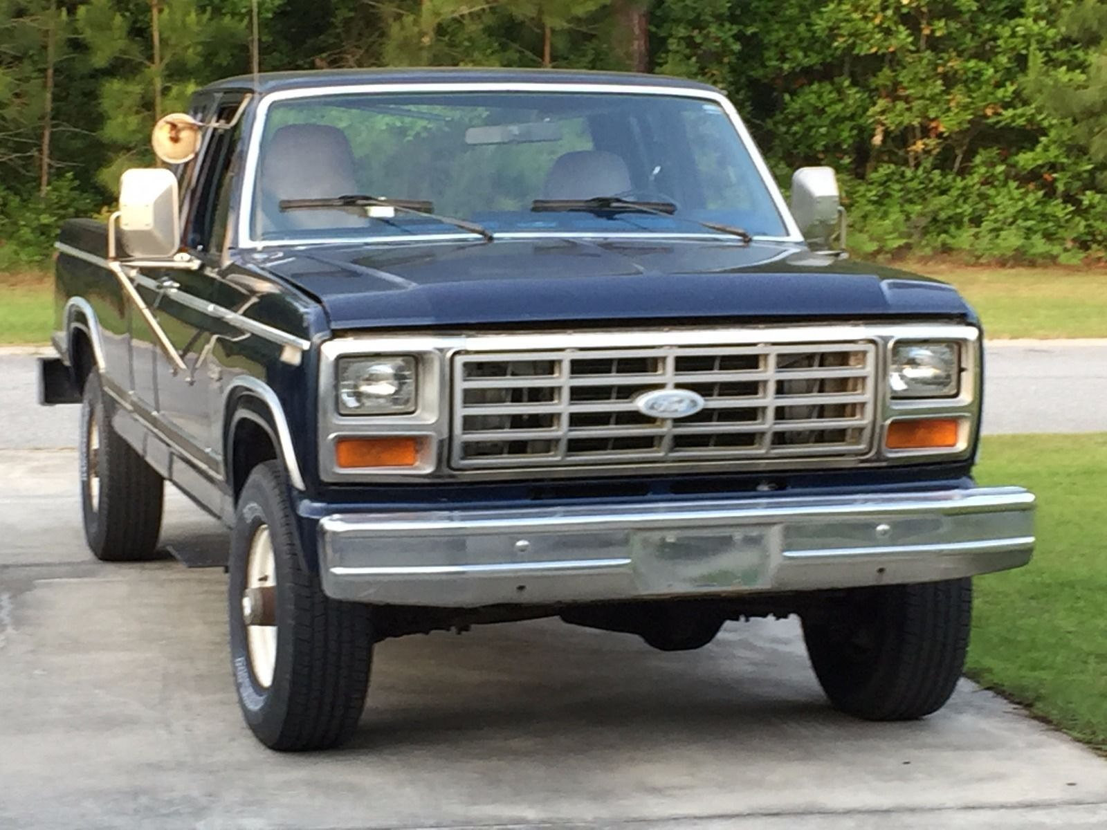 1984 ford f 250 diesel for sale