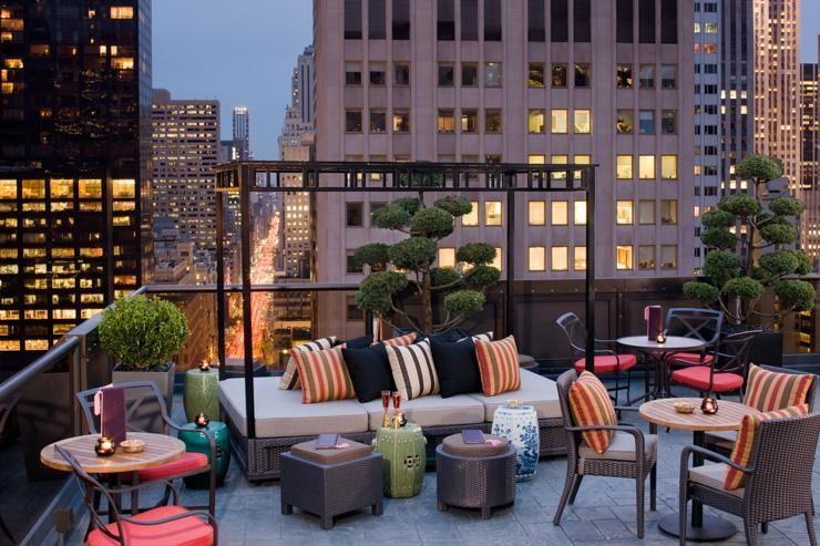 Salon De Ning At Peninsula New York Terrasse Design