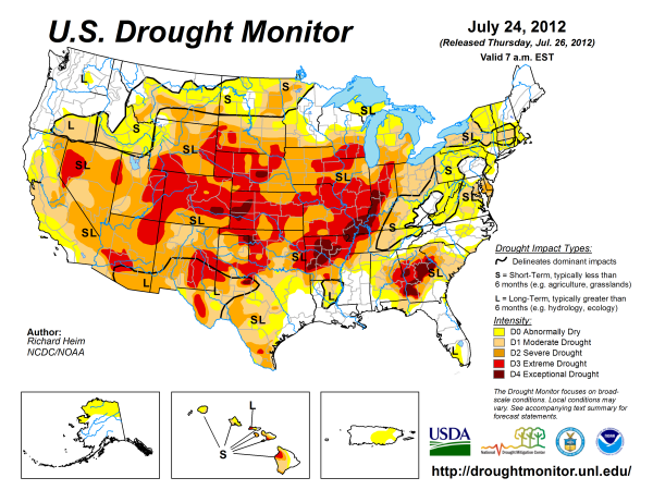 US Drought Monitor Maps National Drought Mitigation Center at