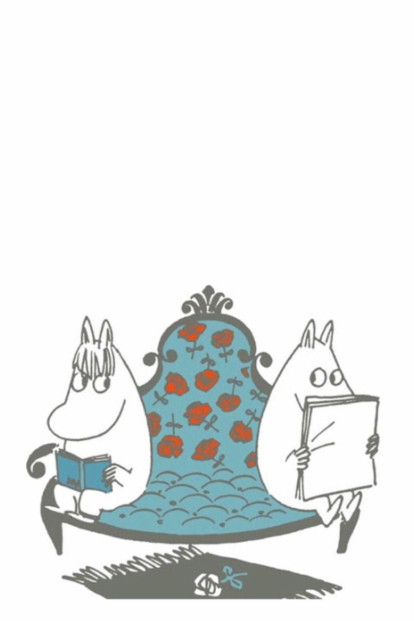 ムーミン 壁紙 完全無料画像検索のプリ画像 Tove Jansson Moomin Cartoon Hippo