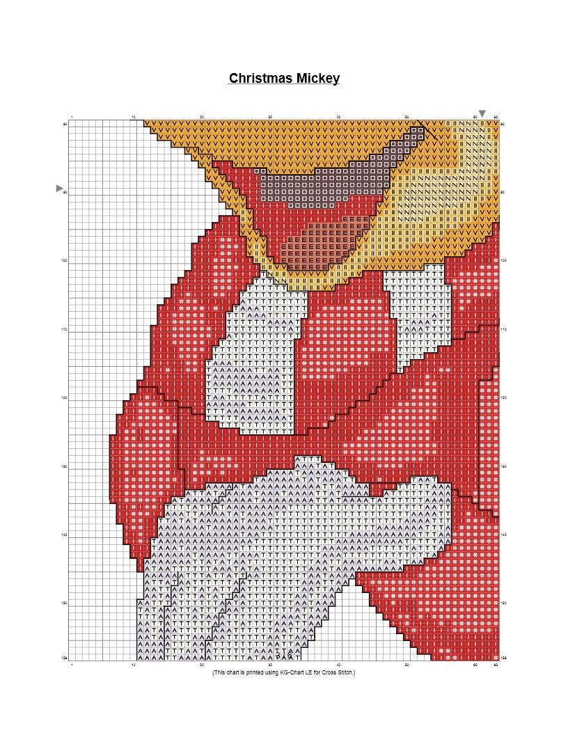 Free Christmas Cross Stitch Patterns To Print Interesting Decorating Design