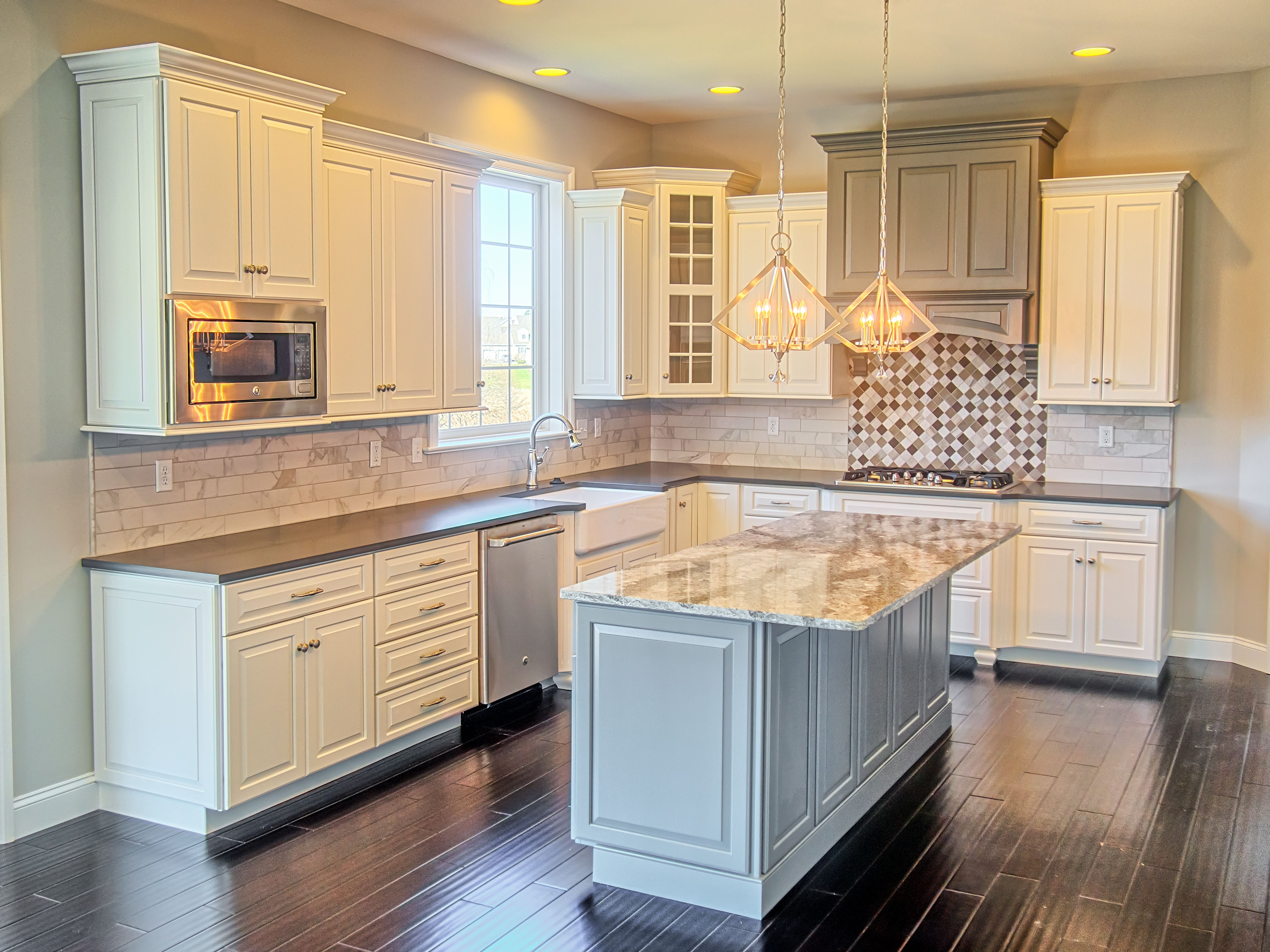 Kitchen View Custom Cabinets Paradise Pa