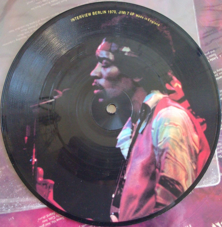 Jimi Hendrix Interview Berlin 1970 Vintage Record