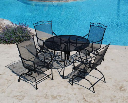 Menards Patio Furniture Choose The Best For Your Courtyard Iron Patio Furniture Backyard Creations Iron Furniture