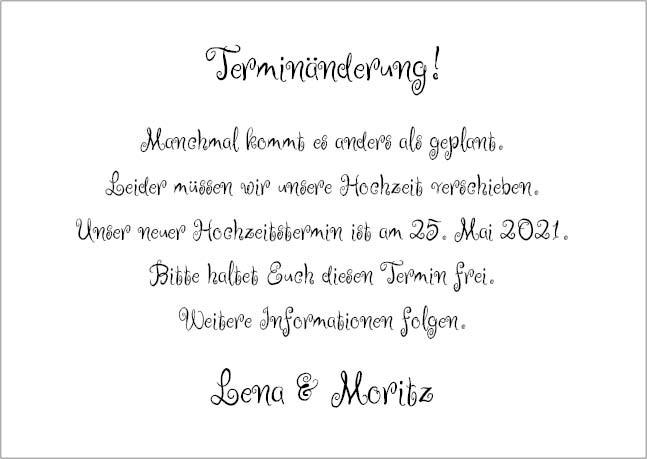 Hochzeits Terminanderungs Karte Mit Witzigen Elefanten 2 Seitig Din A6 Hochzeitstermin Save The Date Karten Hochzeit Lustig