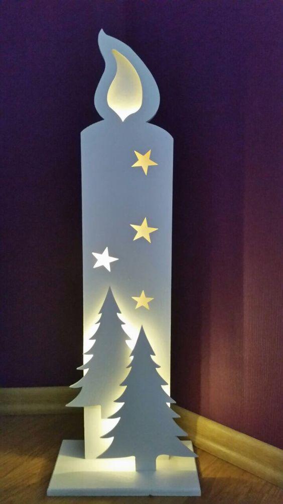 Sternpaar Massivholz gebeizt #weihnachtsmarktideenverkauf