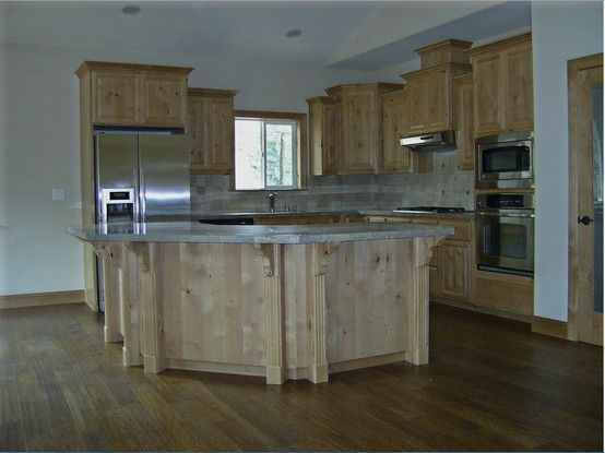 Cabinets Will All Be Knotty Alder With Natural Stain