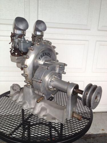 FRENZEL SUPERCHARGER MCCULLOCH SCOT BLOWER FLATHEAD FORD V8 60 V8 85 HOT ROD…