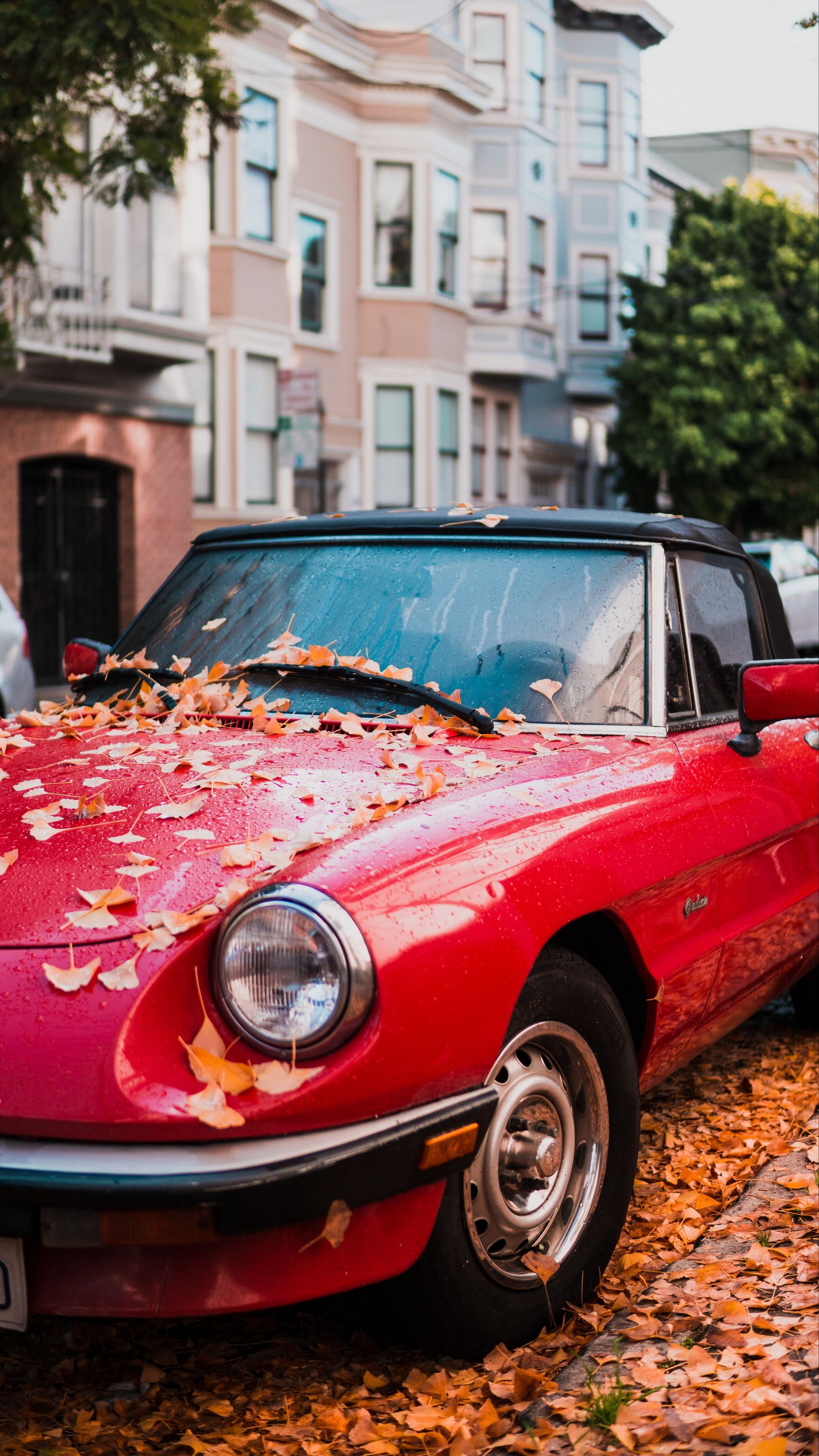 Cars Auto Red Sideview Wallpapers Hd 4k Background For Android