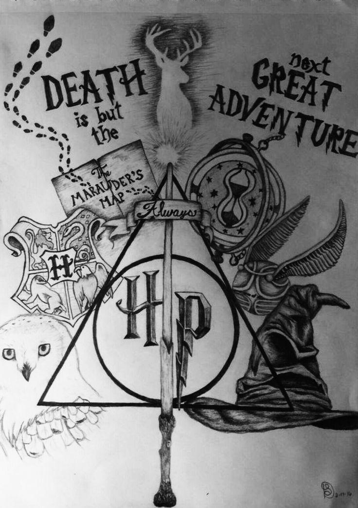 Hp Today Pin Harry Potter Tattoos Harry Potter Bildschirmhintergrund Zeichnungen