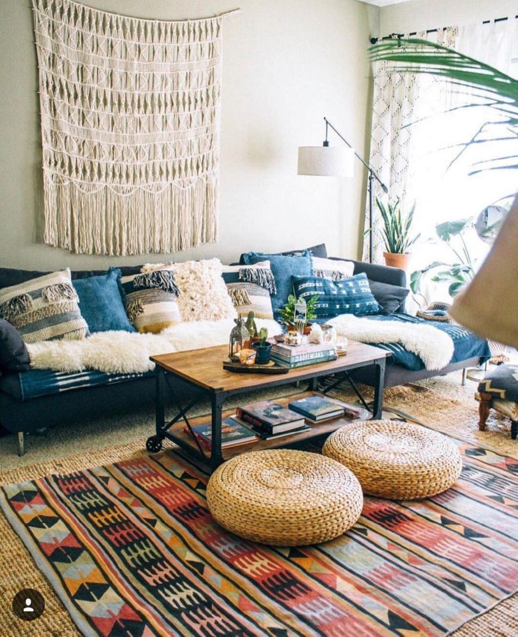 Floor Pillows Living Room Bohemian Interior Design You Must Know Design Rustic Scandinavian Din Minimalist Living Room Hippie Interior Living Room Designs