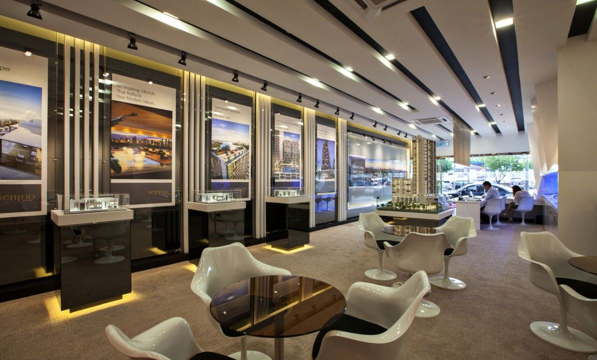 Sentrio suite sales gallery malaysia commercial home for Commercial interior design companies
