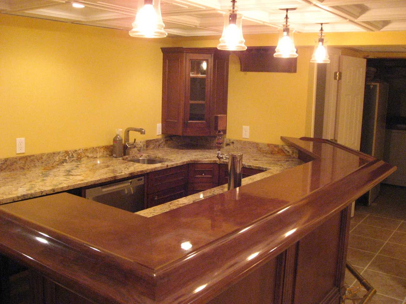 Wooden Bar Counters For Home - Home Design Ideas