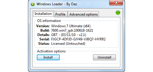 windows 8 activator crack loader