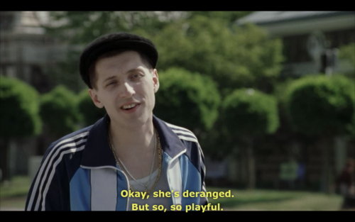 everything is illuminated alex talking about his dog