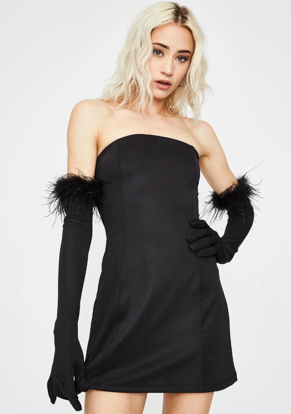 Noir Have Some Fun Strapless Dress Dresses Sparkly Mini Dress Strapless Dress [ 1423 x 1000 Pixel ]