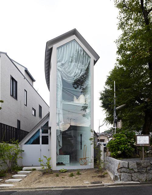 austrialian mini house love that huge curtain that you can lower at rh pinterest de