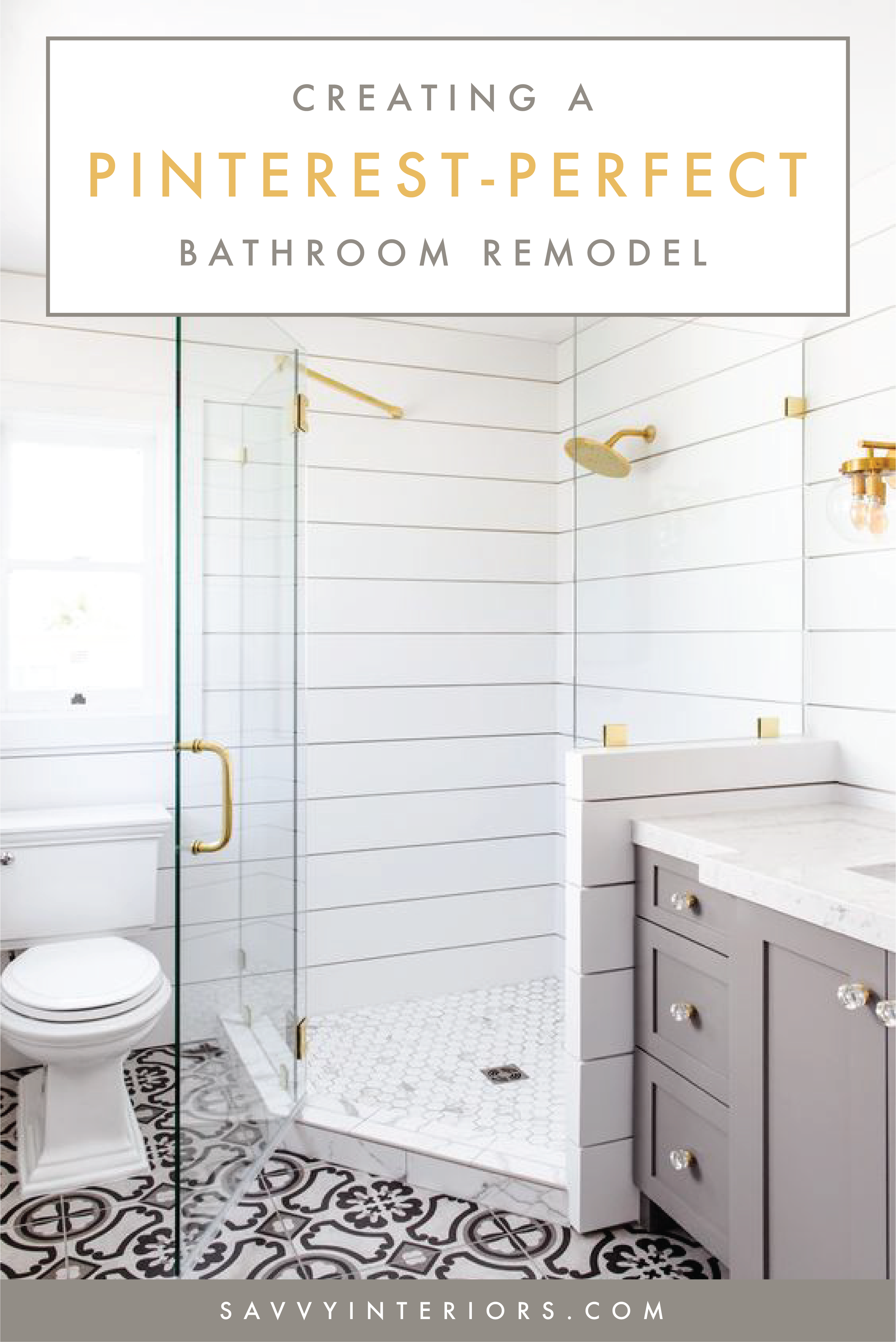 How We Did It Shiplap Shower Savvy Interiors Shiplap Shower Diy Bathroom Remodel Shower Remodel