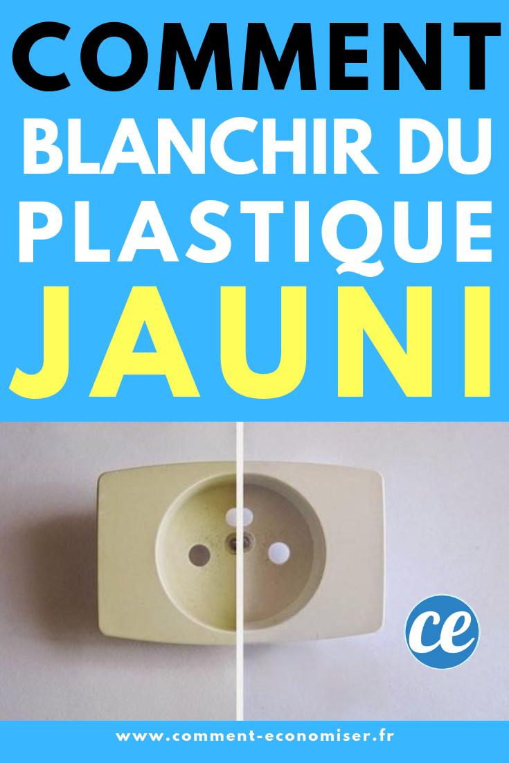 Nettoyer Le Lave Linge Au Bicarbonate facile et rapide : comment blanchir du plastique jauni avec