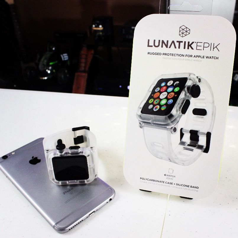 Lunatik Epic Watch Case for the Apple Watch! https://youtu.be/nOKcbZDCP-E