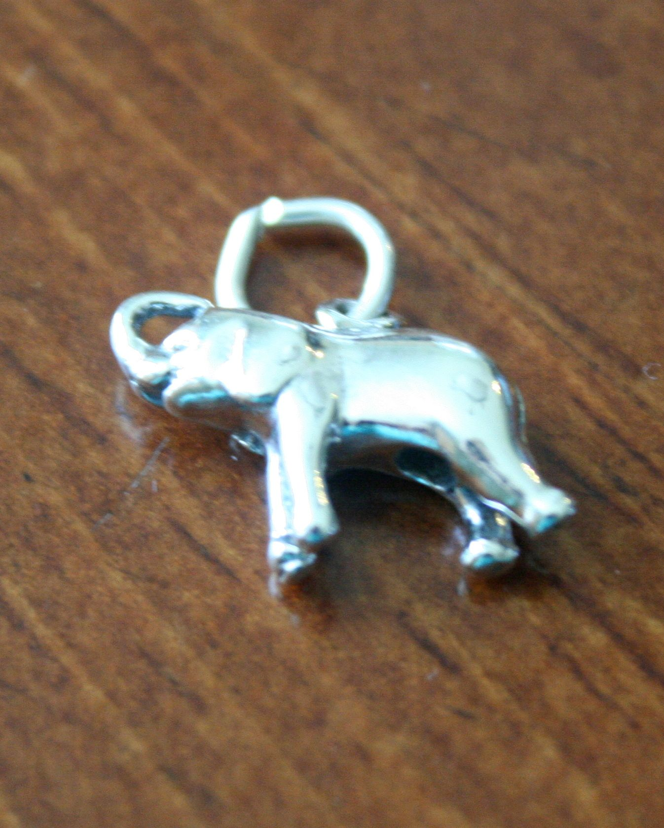 Known to be a symbol of good luck this sterling silver elephant known to be a symbol of good luck this sterling silver elephant pendant will add buycottarizona Image collections