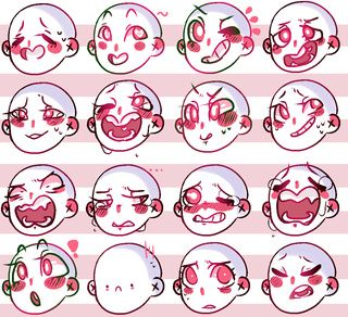 56 Expression Challenge Ideas Drawing Expressions Drawing Face Expressions Drawing Base